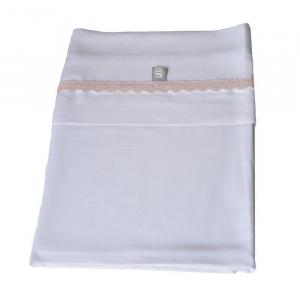 Set Lenzuola per lettino Bedsheet 100x140 cm Bamboom Rosa
