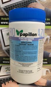 CLORO MULTIAZIONE PASTIGLIE clorante-flocculante-antialghe 1Kg