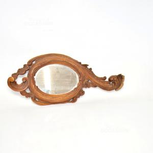 Specchio In Legno 38 Cm