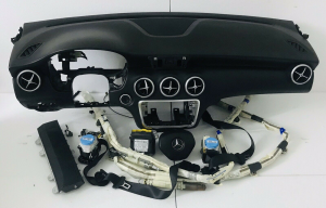 Kit Airbag Completo Cruscotto Mercedes Classe A 180 Anno 2016 Originale