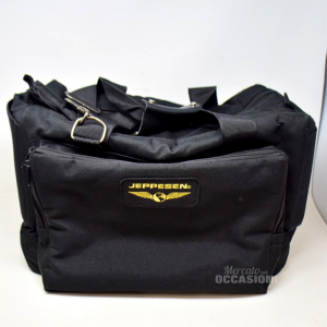 Pilot Bag Man Black Jeppesen