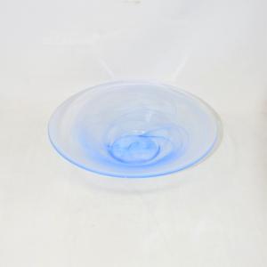 Centrotavola Vetro Azzurro Sfumato 30cm