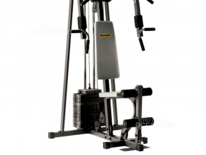 Palestra Multifunzione Turner Power Gym 4000 + Panca Laterale Grigia