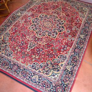 Tappeto Rosso Blu Scuro 160x230cm