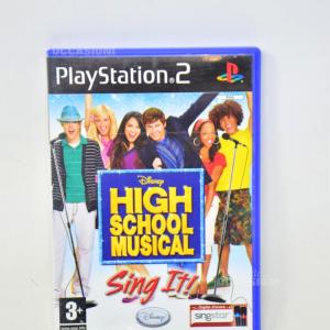 Gioco Playstation 2 High School Musical