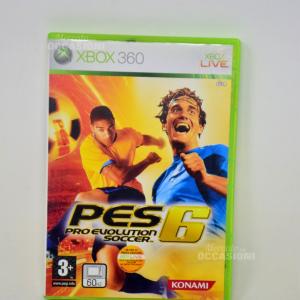 Gioco Xbox 360 Pes 6 Pro Evo