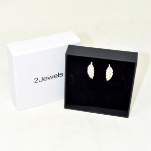 Orechini 2jewels Piuma Brillantini