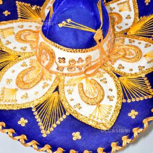 Cappello Blu Mexicano Originale