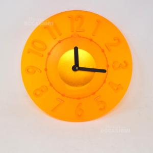 Orologio Arancione Guzzini