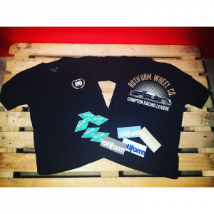 T-Shirt ROTIFORM 09 for man - Nera