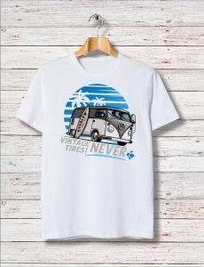 T-Shirt SURFING Overlow - Bianca