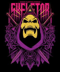 Masters Of The Universe T-Shirt: Skeletor ver.1