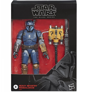 Star Wars The Mandalorian Black Series - Heavy Infantry Mandalorian Exclusive