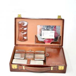 Set Da Viaggio Stile Vintage Con Valigia