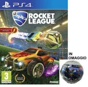 Ps4: Rocket League + macchinina