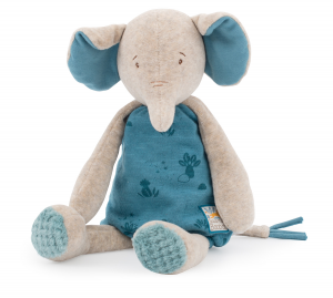 Elefante Bergamote di Moulin Roty in scatola regalo