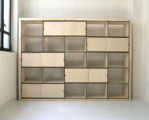 AYMARA 5 - La libreria di libera configurazione. Modulo da 5 vani