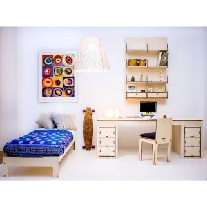 TACHI DESK - la scrivania ecologica per la camera e l' ufficio