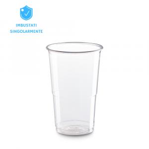 Bicchieri biodegradabili 250ml PLA - imbustati singolarmente