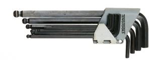 Serie di chiavi a brugola in pollici TengTools 1479AF