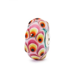 Beads Trollbeads, Piume Granato
