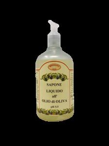 Sapone liquido all'olio di oliva 500 ml