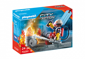 PLAYMOBIL GIFT SET POMPIERI 70291