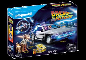 PLAYMOBIL  RITORNO AL FUTURO DELOREAN 70317
