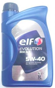 OLIO ELF EVOLUTION 900 NF 5W40 LT 1
