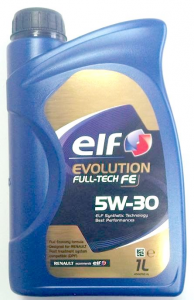 Olio Elf evolution 5w30 RN-FULL TECH FE Renault