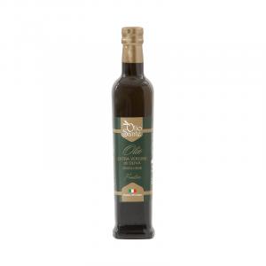 Olio EVO Frantoio 500ml 2019/20- Olio extravergine di oliva Pugliese cultivar Frantoio Sante in bottiglia da 500 ml - Terre di Ostuni