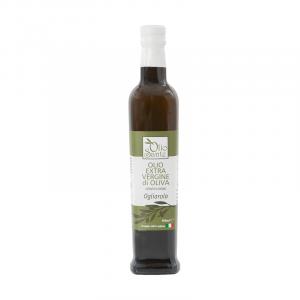 Olio Evo Ogliarola 500ml 2019/20 - Olio extravergine di oliva Pugliese cultivar Ogliarola Sante in Bottiglia da 500 ml - Terre di Ostuni