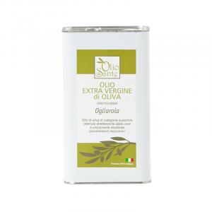 Olio EVO Ogliarola 3L 2019/20 - Olio extravergine di oliva Pugliese cultivar Ogliarola Sante in Latta 3 Litri - Terre di Ostuni