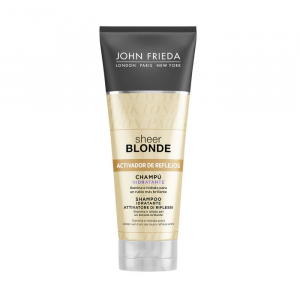 John Frieda Sheer Blonde Highlight Activating Brightening Shampoo Lighter Blondes 250ml