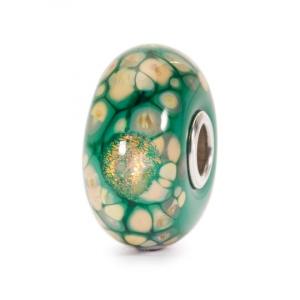 Beads Trollbeads, Mosaico di Fiori Verdi