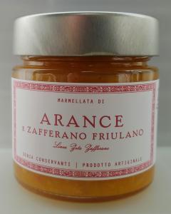 Marmellata di arance e zafferano - 6 pz