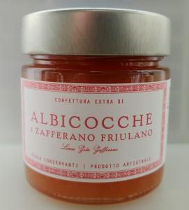 Confettura extra di albicocche e zafferano - 6 pz