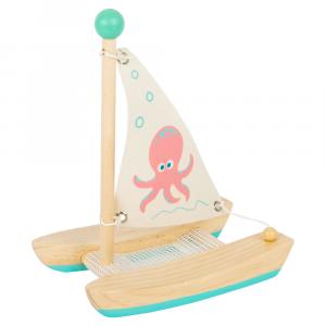 Gioco acquatico Catamarano con polipo