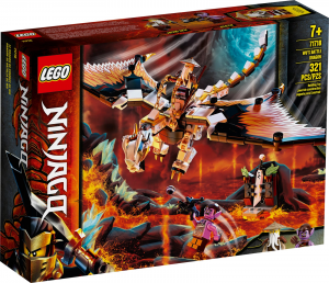 LEGO NINJAGO DRAGONE DA BATTAGLIA DI WU 71718