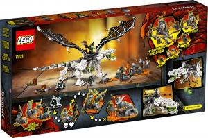 LEGO NINJAGO DRAGO DELLO STREGONE TESCHIO 71721