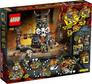 LEGO NINJAGO LE SEGRETE DELLO STREGONE TESCHIO 71722