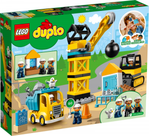 LEGO DUPLO CANTIERE DI DEMOLIZIONE 10932