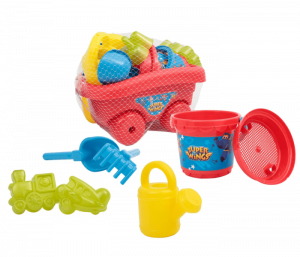 CARRETTO CON SET SECCHIELLO SUPER WINGS GIOCHI PREZIOSI