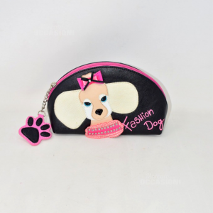 Beauty Braccialini Fashion Dog Ecopelle Con Interno Rosa