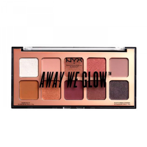 Nyx Away We Glow Shadow Palette Lovedeam