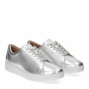Fitflop rally sneakers silver