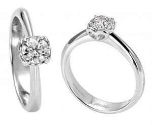 ReCarlo Anello Anniversary - Diamante ct. 0,19 -