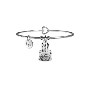 Kidult Bracciale Special Moments, Life, TORTA | BUON COMPLEANNO