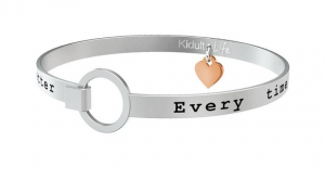 Kidult Bracciale Love, Life, EVERY TIME...