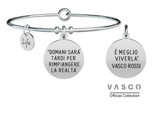 Kidult Bracciale Free Time, Life, Vasco official Collection GABRI